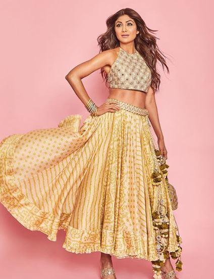 shilpa shetty lakme fashion week