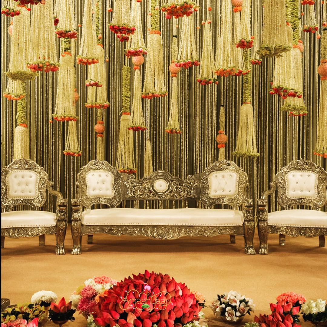floral tassels decor