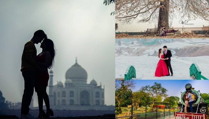 Pre Wedding shoot Locations in India that Defines Heaven for the Bride and Groom to be