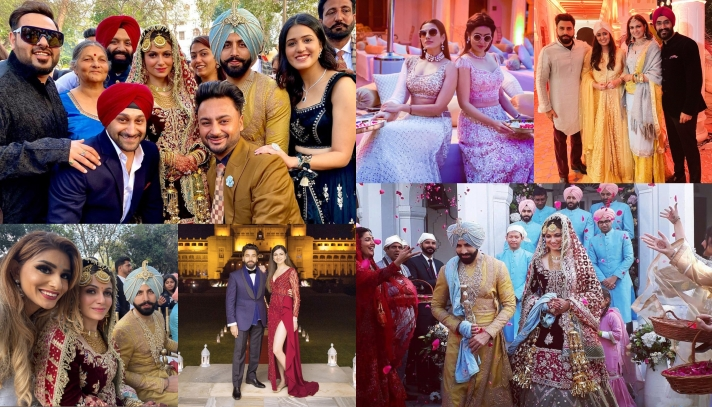 Gurickk Maan & Simran Kaur Mundi's Big Fat Punjabi Wedding: Catch All The Action