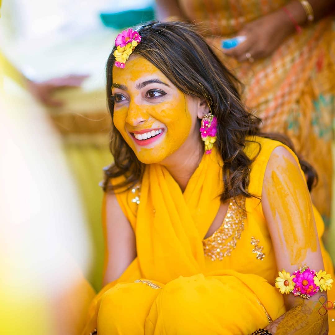 haldi ceremony auspisious