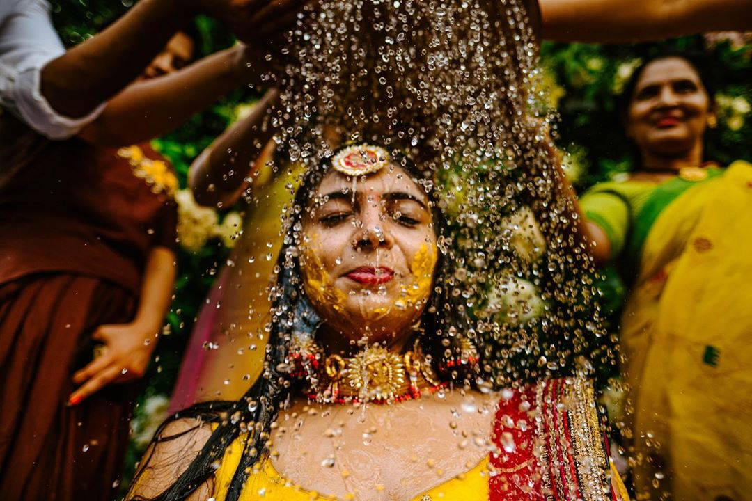 special effects of haldi ceremony