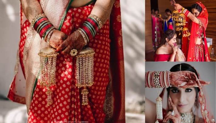 Creative and Out-of-the-box bridal Kaleeras for your Big-Day