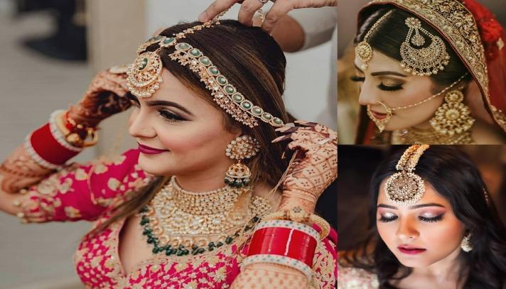 Wedding Jewellery- Maang Tikka Rules the Roost