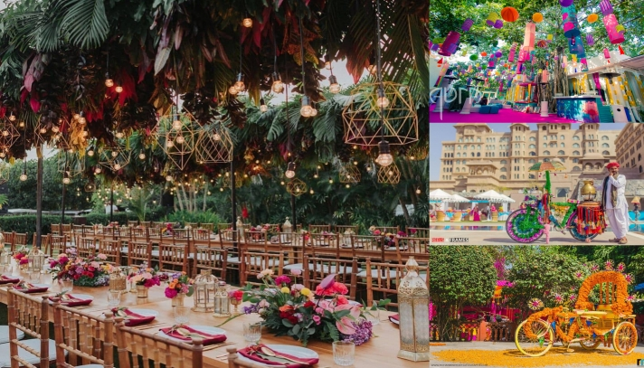 Super-flattering and Fancy Wedding Decor Themes And Props