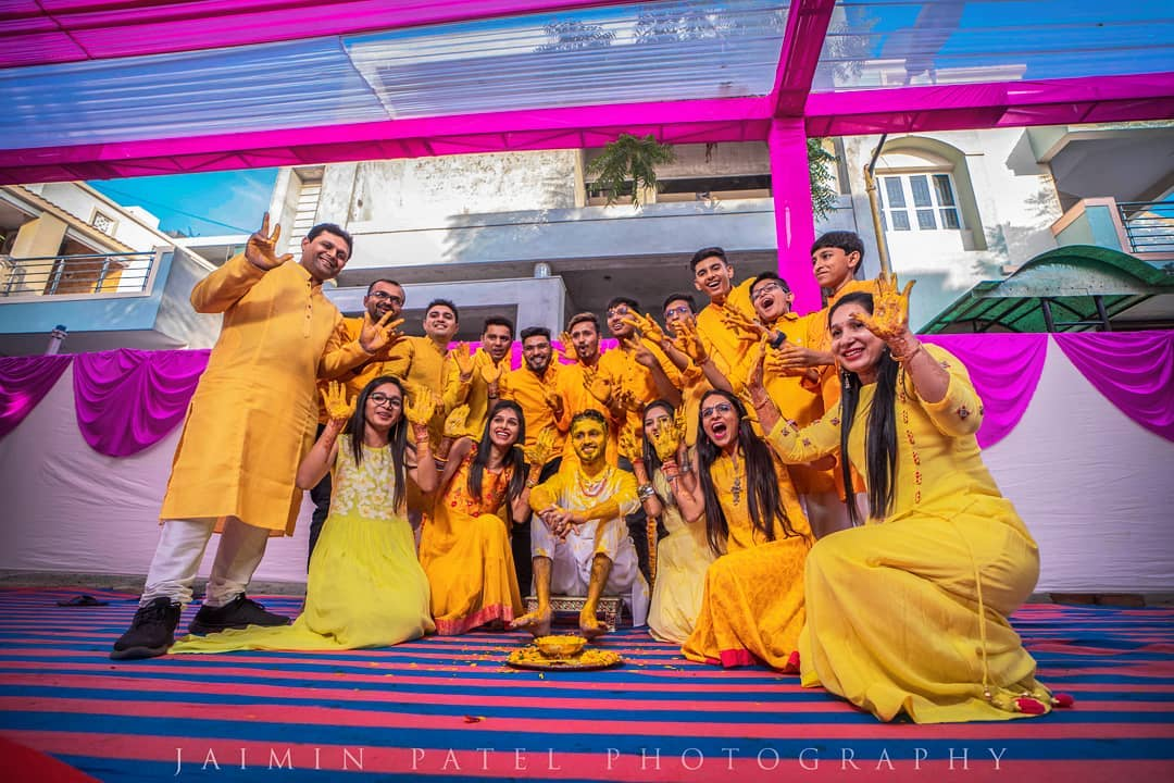 traditional songs and dance on haldi ceremony