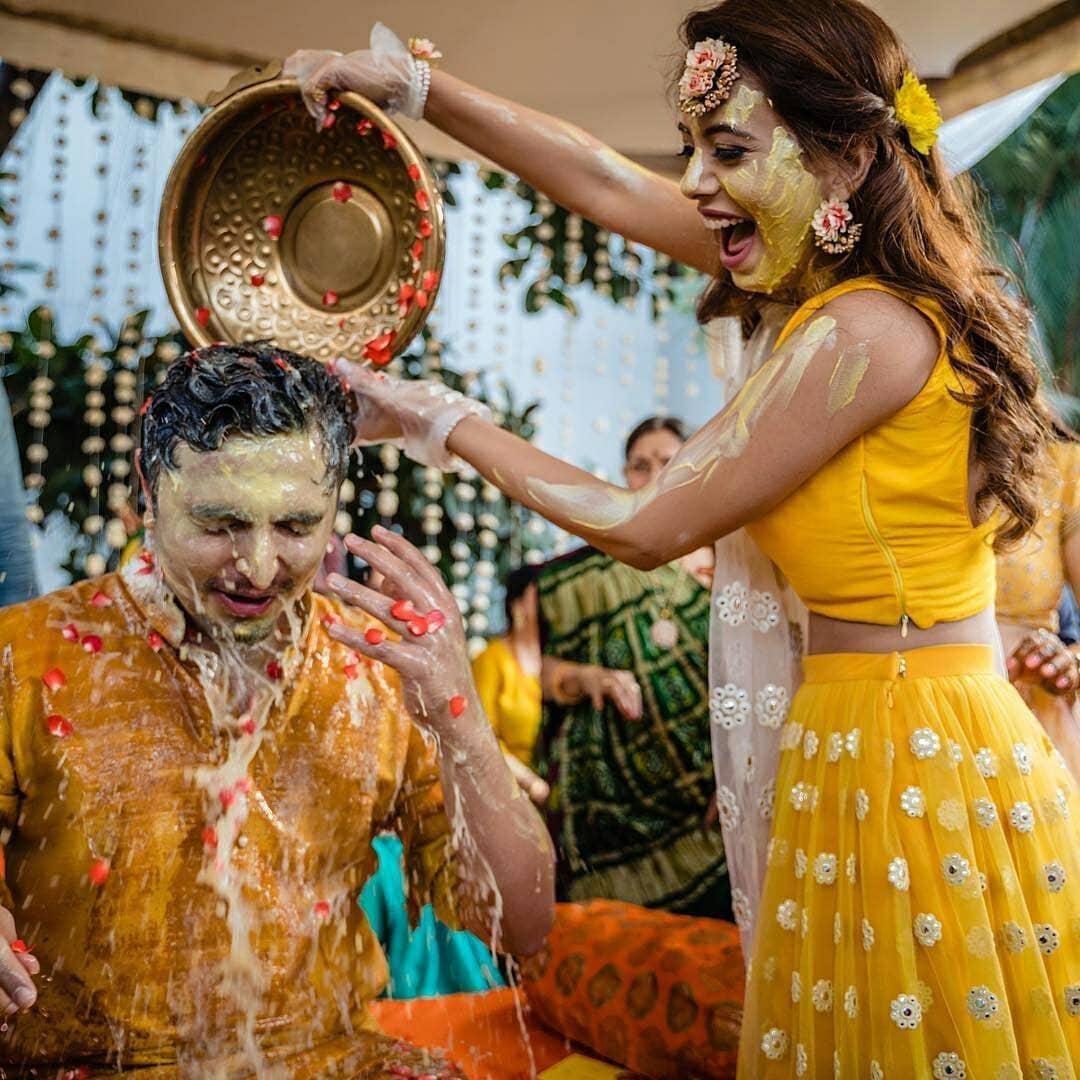haldi ceremony ritual process