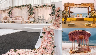 Trendy And Inspiring Indian Wedding Stage Decoration Ideas