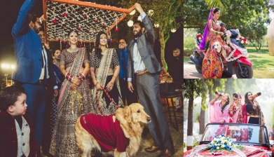 The Style And Swag Of These Bridal Entries Will Floor You