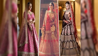 Trending Sabyasachi Lehengas for Winter Wedding