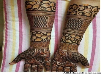 Stylish Mehandi Designer