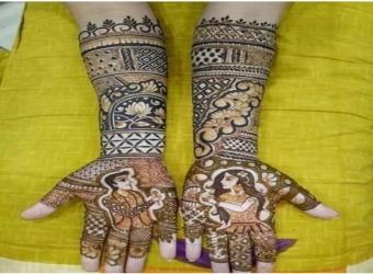 Mehndi art Vinod