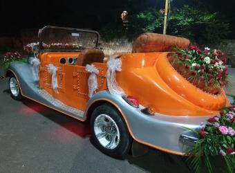 Bhopal Wedding vintage cart
