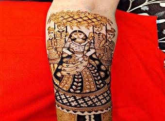 Arun mehandi artist